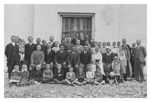 Posviacka evanjelického a.v. kostola v Smižanoch 1934